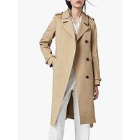 AllSaints Chiara Trench Coat, Light Tan