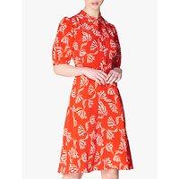 L.K.Bennett Marceau Floral Mini Dress, Red