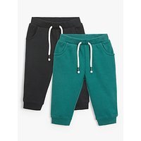 John Lewis & Partners Baby Joggers, Pack of 2, Green/Black