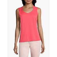 Betty Barclay Siri Vest Top, Coral Red