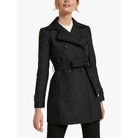 Forever New Helana Mac Trench Coat, Black