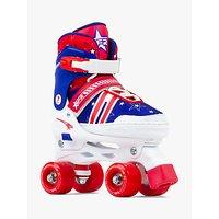 Stateside Spectra Roller Quad Skates, Red
