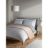 John Lewis and Partners Delicate Feather Duvet Cover Set