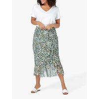 Live Unlimited Wrap Skirt, Olive