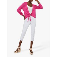 Monsoon Libby Tie Shrug, Pink