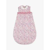 John Lewis & Partners Heirloom Collection Floral Print Sleep Bag, 1 Tog, Pink
