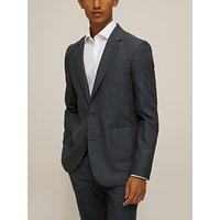 Paul Smith Unlined Wool Puppytooth Tailored Fit Suit Jacket, Teal