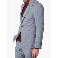 Jaeger Single Breasted Slim Fit Wool Suit Jacket, Grey