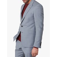 Jaeger Melange Wool Slim Fit Suit Jacket, Grey