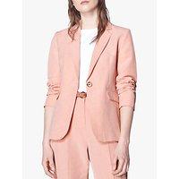 L.K.Bennett Sweetpea Jacket, Pale Pink