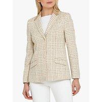 Helen McAlinden Hacking Tweed Jacket, Neutral