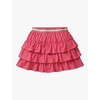 Mini Boden Girls Jersey Ruffle Skort, Pink