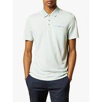 Ted Baker Carosel Flat Knit Oxford Polo Shirt