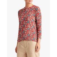 Lauren Ralph Lauren Meggie Floral Print Sweater, Multi