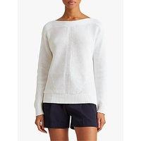 Lauren Ralph Lauren Avanyss Long Sleeved Jumper, White