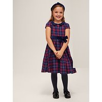 John Lewis & Partners Heirloom Collection Girls' Tartan Dress