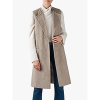 Helene For Denim Wardrobe Vienna Waistcoat, Beige