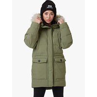 Helly Hansen Regina Womens Waterproof Parka Jacket, Lav Green