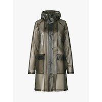 Ilse Jacobsen Hornbæk Rain 134 Semi-Transparent Raincoat, Green