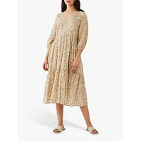 Ghost Rose Crinkle Cotton Dress, Country House Rose
