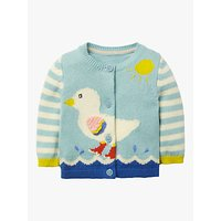 Mini Boden Baby Fun Cardigan, Light Frosted Blue