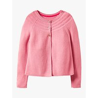 Mini Boden Girls Cotton Blend Cardigan, Formica Pink