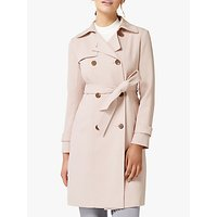 Forever New Juliana Trench Coat, Blush Pearl