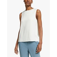 Theory Silk Shell Top, Ivory