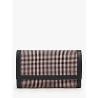 shop for L.K.Bennett Dayana Houndstooth Clutch Bag, Coral at Shopo