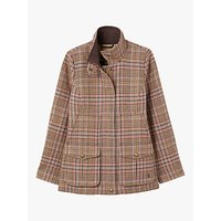 Joules Fieldcoat Jacket, Pink Tweed