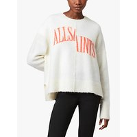 AllSaints Split Saints Crew Jumper