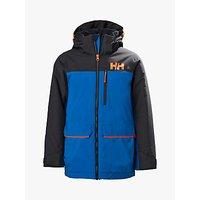 Helly Hansen Boys Junior Tornado Ski Jacket, Sonic Blue