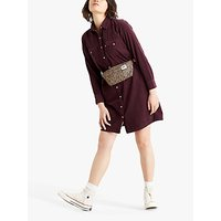 Levis Selma Shirt Dress, Purple
