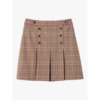 Joules Haddie Skirt, Pink Tweed