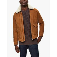 SELECTED HOMME Shawn Suede Jacket, Camel