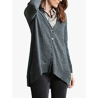 Pure Collection Swing Cardigan, Soft Charcoal