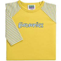 Brownies Uniform Long Sleeve T-shirt, Yellow