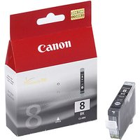 Canon PIXMA CLI-8BK Inkjet Cartridge, Black