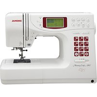 Janome Memory Craft 5900QC Sewing Machine