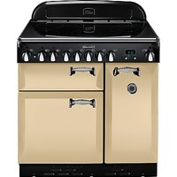 Rangemaster Elan 90 Electric Range Cooker, Cream