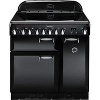 Rangemaster Elan 90 Electric Range Cooker, Black