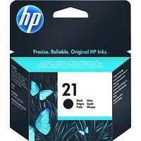 HP 21 Inkjet Cartridge Black, C9351AE