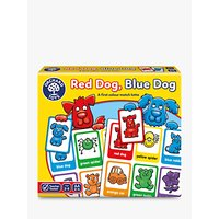 Orchard Toys Red Dog Blue Dog Colour Match Game