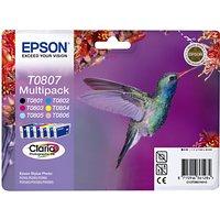 Epson Hummingbird T0807 Inkjet Cartridge Multipack