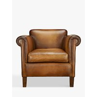 John Lewis Camford Leather Armchair, Buffalo Antique