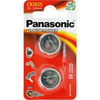 Panasonic 3V Lithium Coin Cell Battery, CR2025