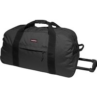 Eastpak Container 85 Wheeled Duffle Bag, Black