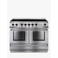 Falcon Continental 1092 EISS/C-EU Induction Hob Range Cooker, Stainless Steel and Chrome
