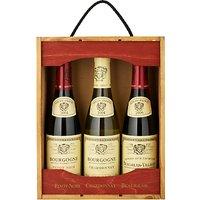 Louis Jadot Trio Wine Set, 3 x 37.5cl