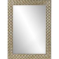John Lewis Mosaic Wall Mirror, Champagne 106 x 75cm